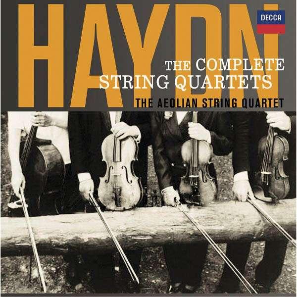 Joseph Haydn (1732-1809)  Sämtliche Streichquartette Aeolian Quartet 22 CDs - Die vorliegende Edition ist mehr als ein historisches Musikdokument. Diese Streichquartette sind vor allem ein großer Hörgenuss.