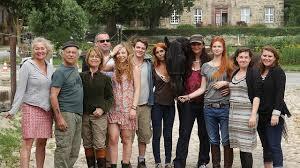Das Filmteam von Ostwind 1+2 mit Cornelia Froboes (3.von links)