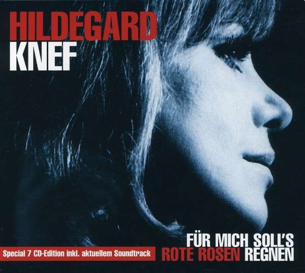 Hildegard Knef  Für mich soll's rote Rosen regnen 7 CDs