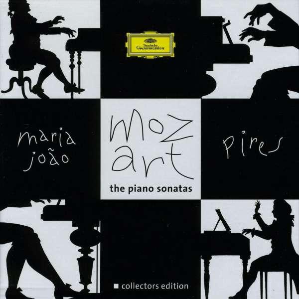 Wolfgang Amadeus Mozart (1756-1791)  Klaviersonaten Nr.1-18 Maria Joao Pires 6 CDs
