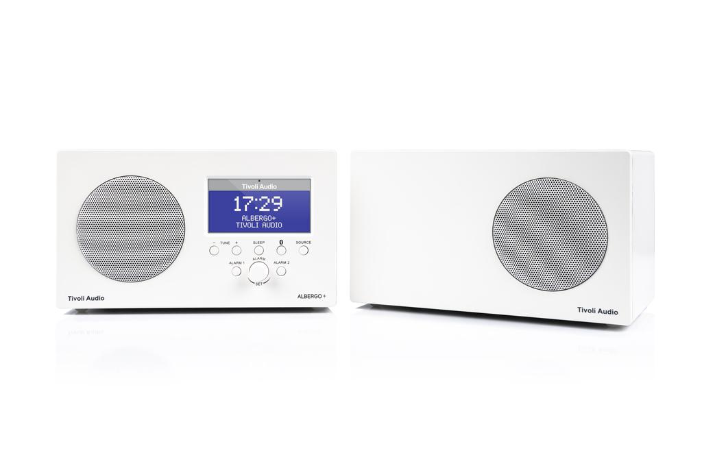 UKW Empfang / DAB+ / WECKER / BLUETOOTH / AUX / FB  mit  extra Lautsprecher (für Stereobetrieb)