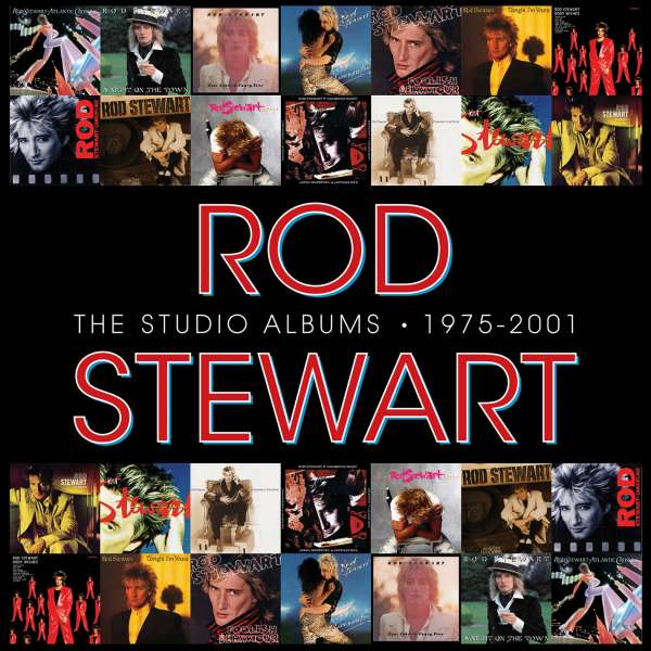 Rod Stewart  The Studio Albums 1975 - 2001 (Limited Edition Boxset) 14 CDs