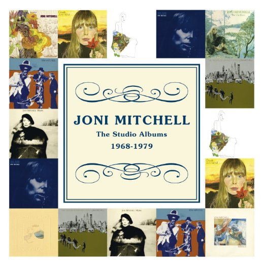 Joni Mitchell  The Studio Albums 1968 - 1979 (Limited Edition) 10 CDs