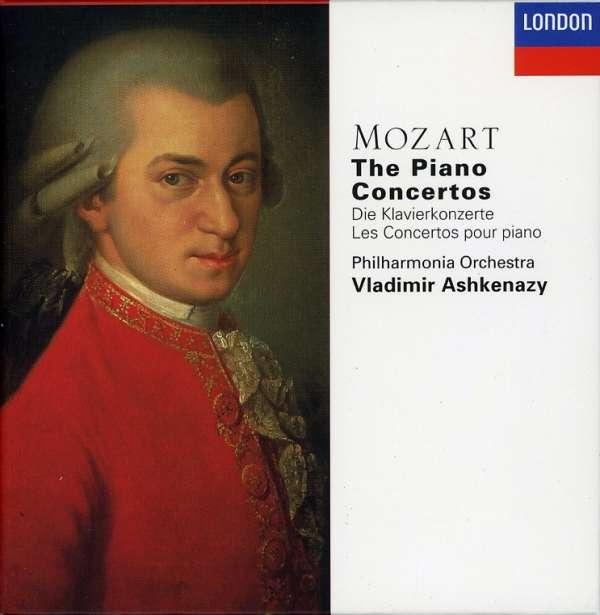 Wolfgang Amadeus Mozart (1756-1791)  Sämtliche Klavierkonzerte Vladimir Ashkenazy, Philharmonia Orchestra 10 CDs