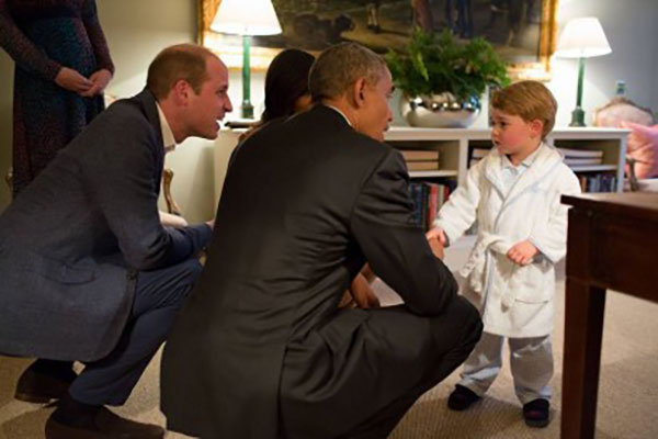 Meeting Prince George