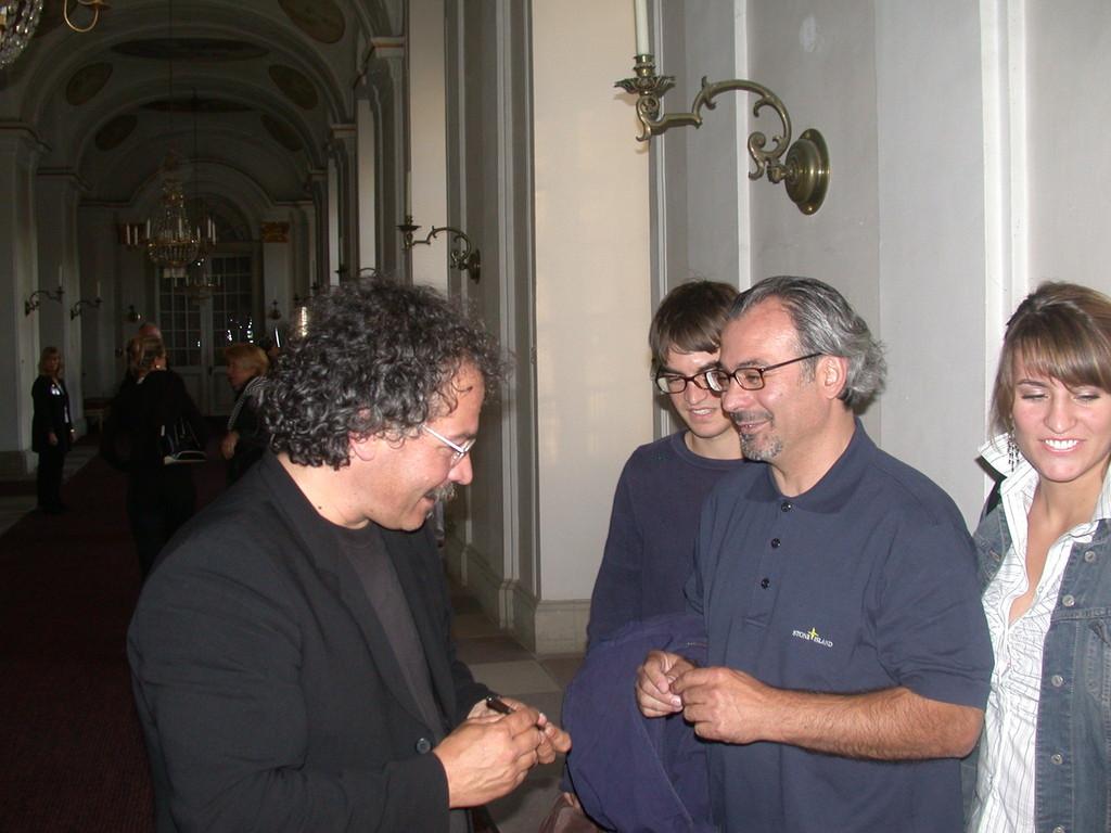 Gianmaria Testa und p.p.studio Kunden aus BiBi