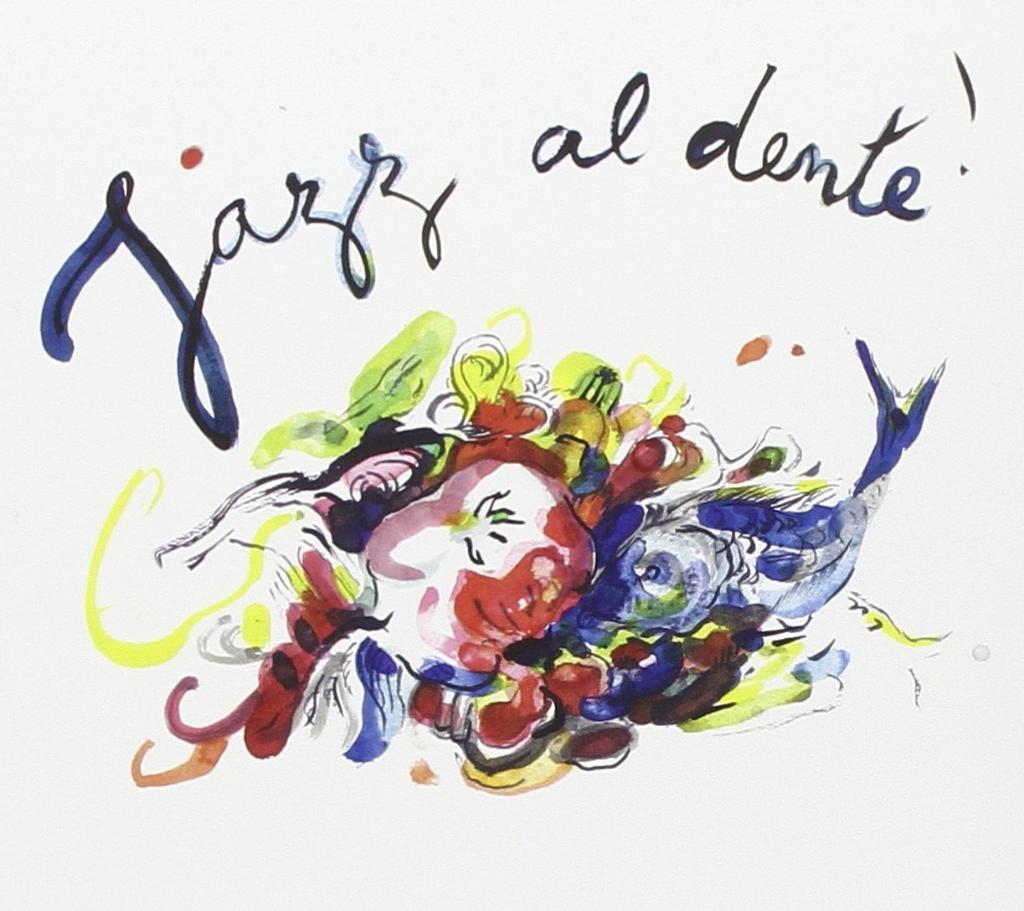 Jazz Al Dente - 2 CDs  Verschiedene Interpreten     Gianmaria Testa/Paolo Fresu/  Joe Barbieri/Lorenzo Tucci etcpp (jeder Interpret stellt ein Rezept vor) Nicht im deutschen Vertrieb!     Aktuelles Angebot 22,99 EUR  + 1 Flasche ANCIENS TEMPS gratis