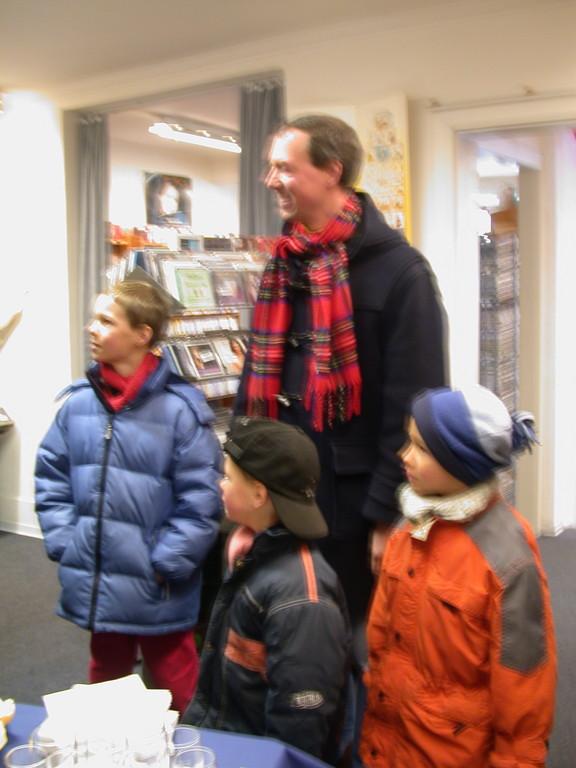 Rae Frank ...... mit Kindern
