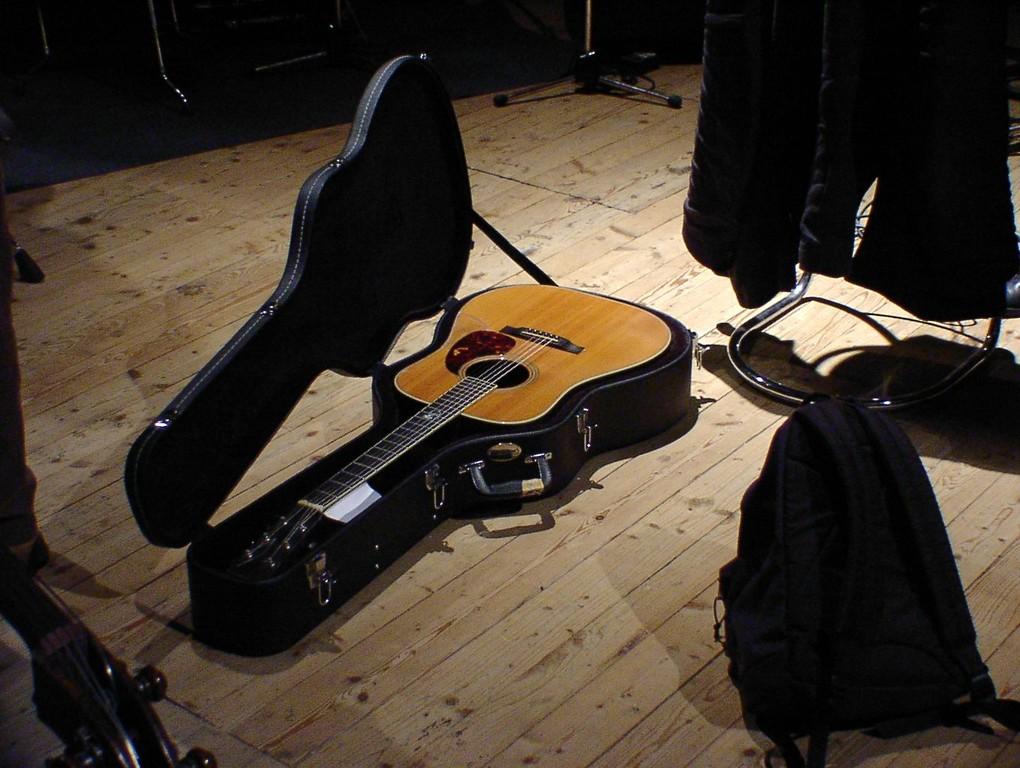 Guitar von Gianmaria Testa