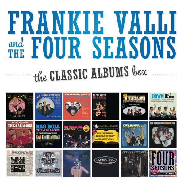 Frankie Valli  The Classic Albums Box 18 CDs