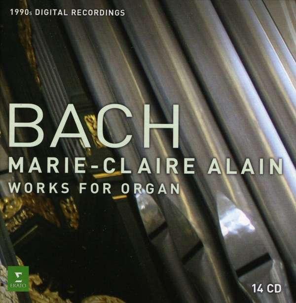 Johann Sebastian Bach (1685-1750)  Orgelwerke Marie-Claire Alain 14 CDs