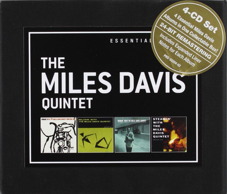 Miles Davis (1926-1991) Essential Albums (Cookin'/Relaxin'/Workin'/Steamin') 4 CDs (Jazzklassiker eingeboxt)