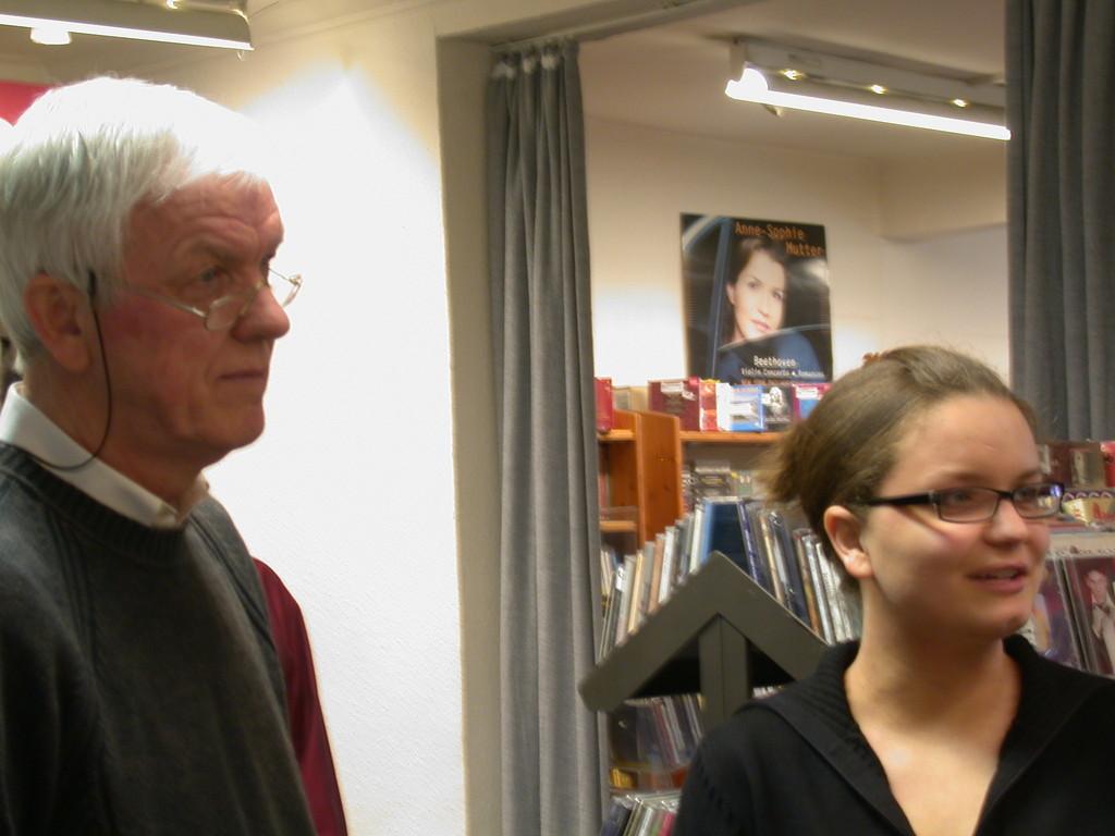 Kurt Gillé mit Tochter Kathrin
