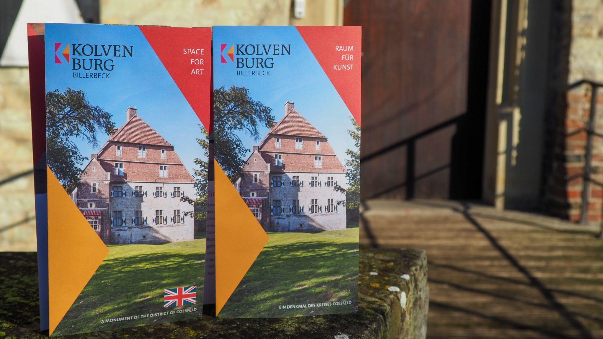 Mit Hilfe der Kleinprojekte-Förderung hat die Kolvenburg einen neuen Flyer entworfen. Foto: © Kreis Coesfeld, Foto: Lukas Bertels