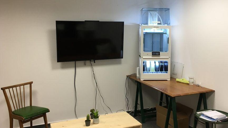 3D-Lab für flamschen² coworking in Coesfeld |  Foto flamschen² coworking
