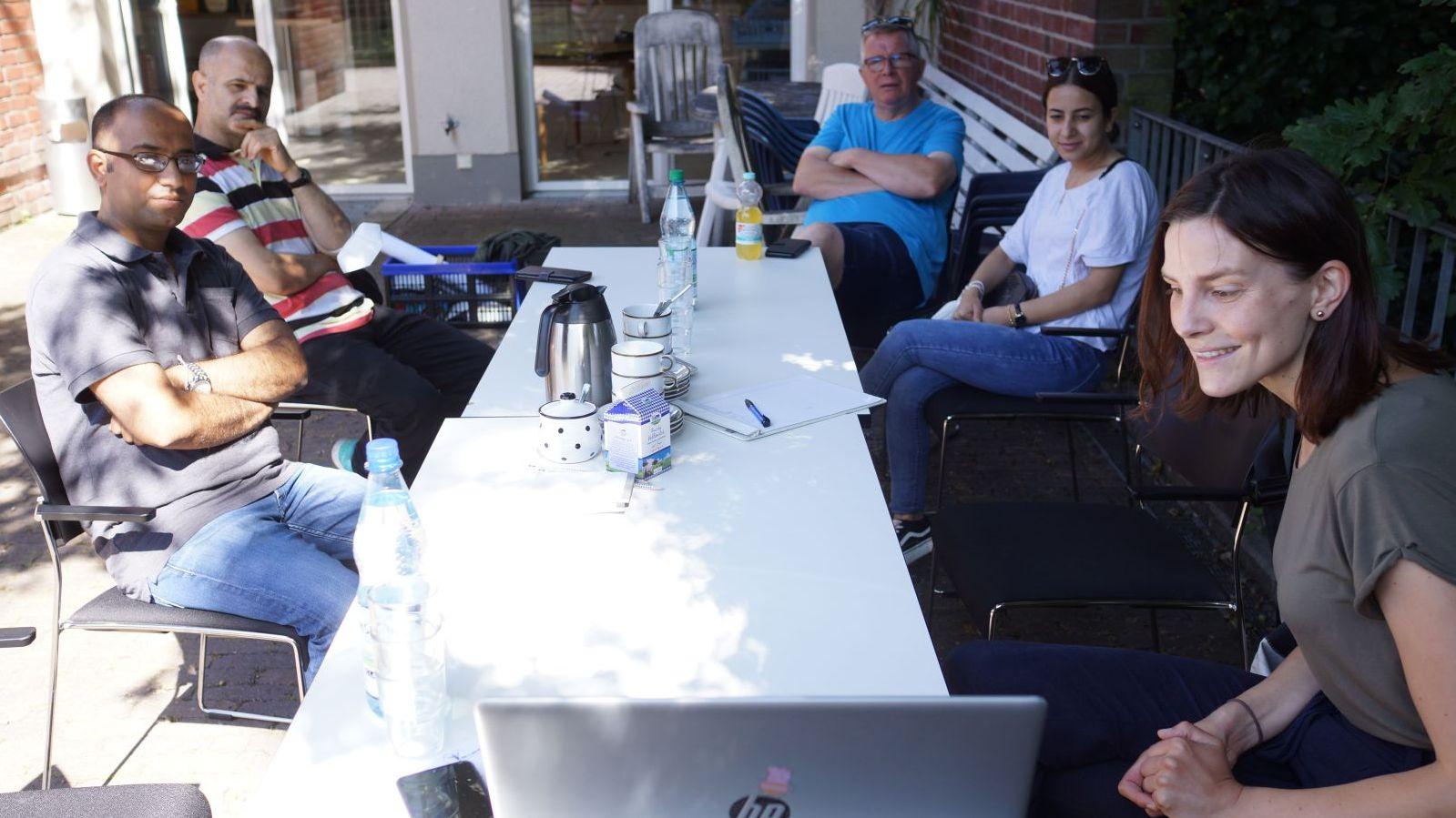 CMS für Blog und Homepage der Flüchtlingsinitiative Coesfeld