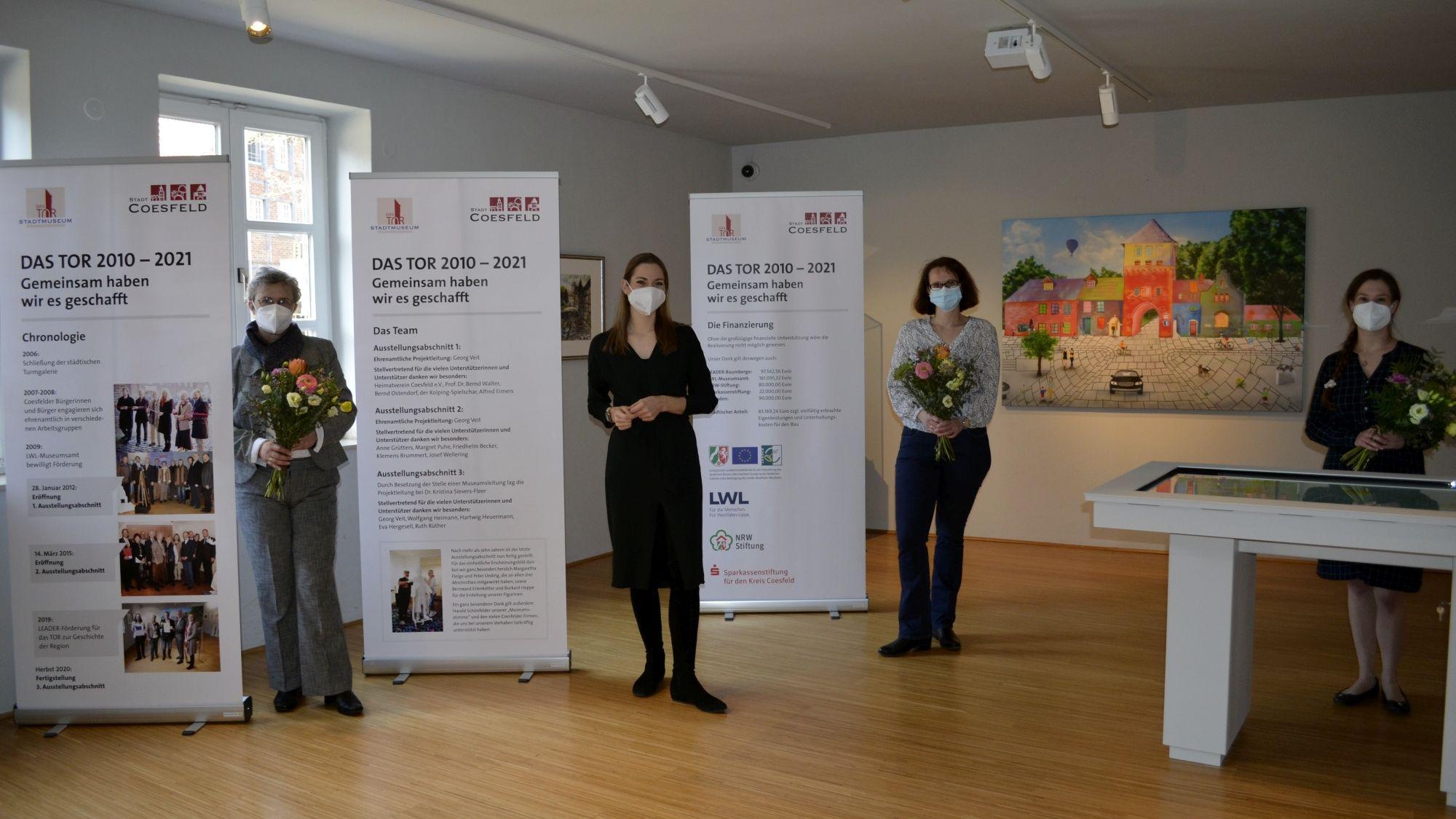 Stadtmuseum DAS TOR: Letzter Bauabschnitt fertig gestellt