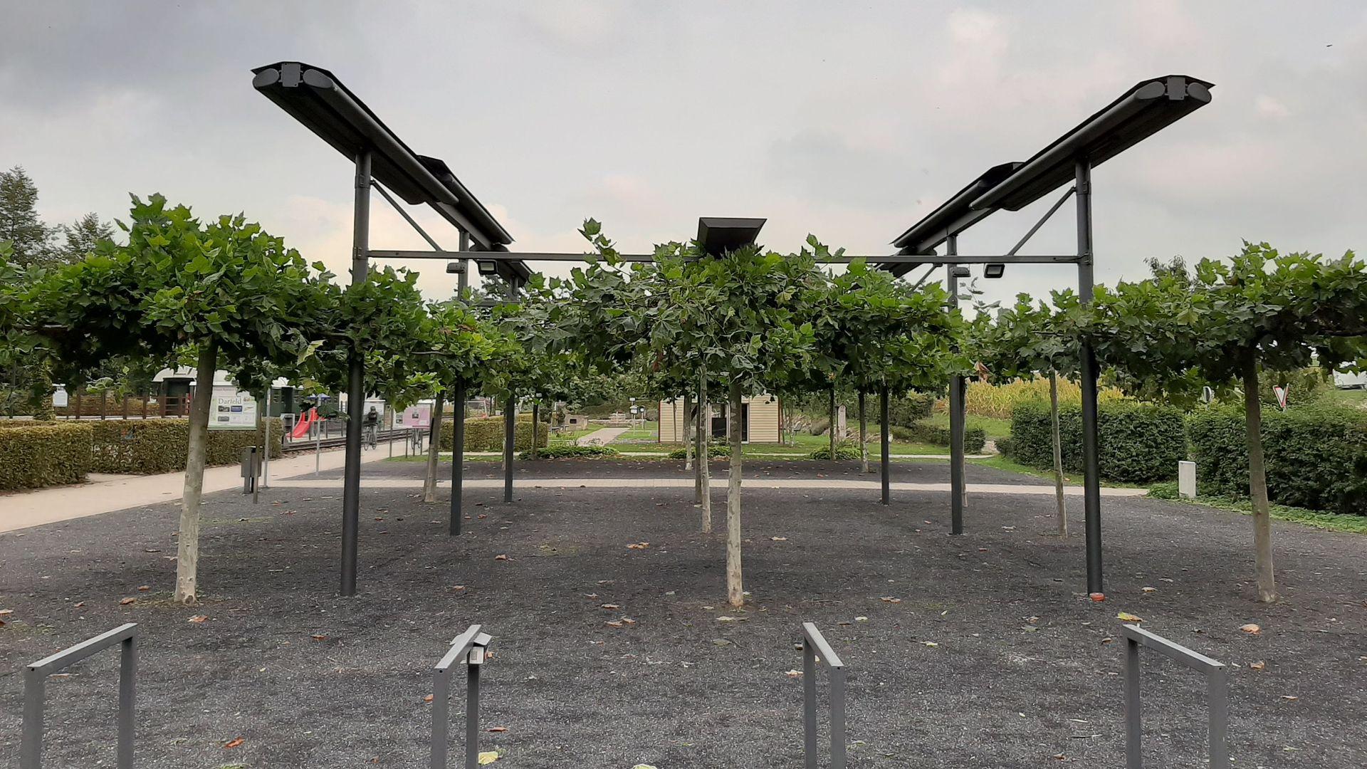 Generationenpark Darfeld: Markisendach