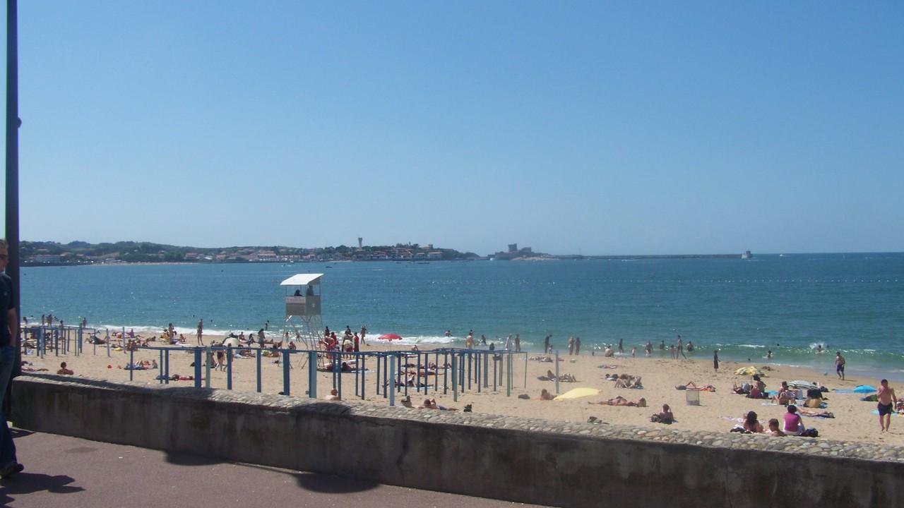 Les plages chambre d 39 h te saint jean de luz pays basque - Saint jean de luz chambre d hote ...
