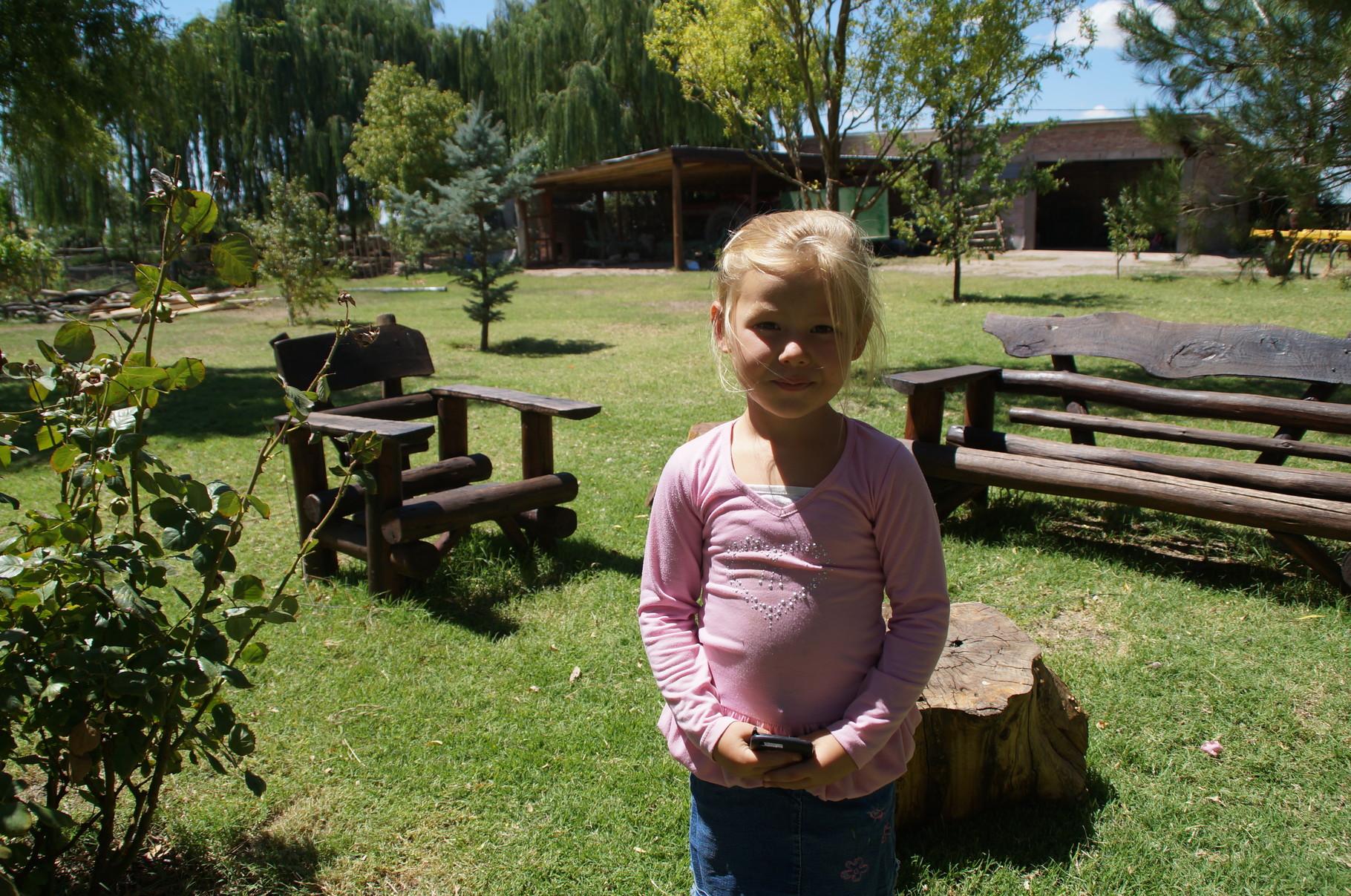 Die kleine Gabriela...