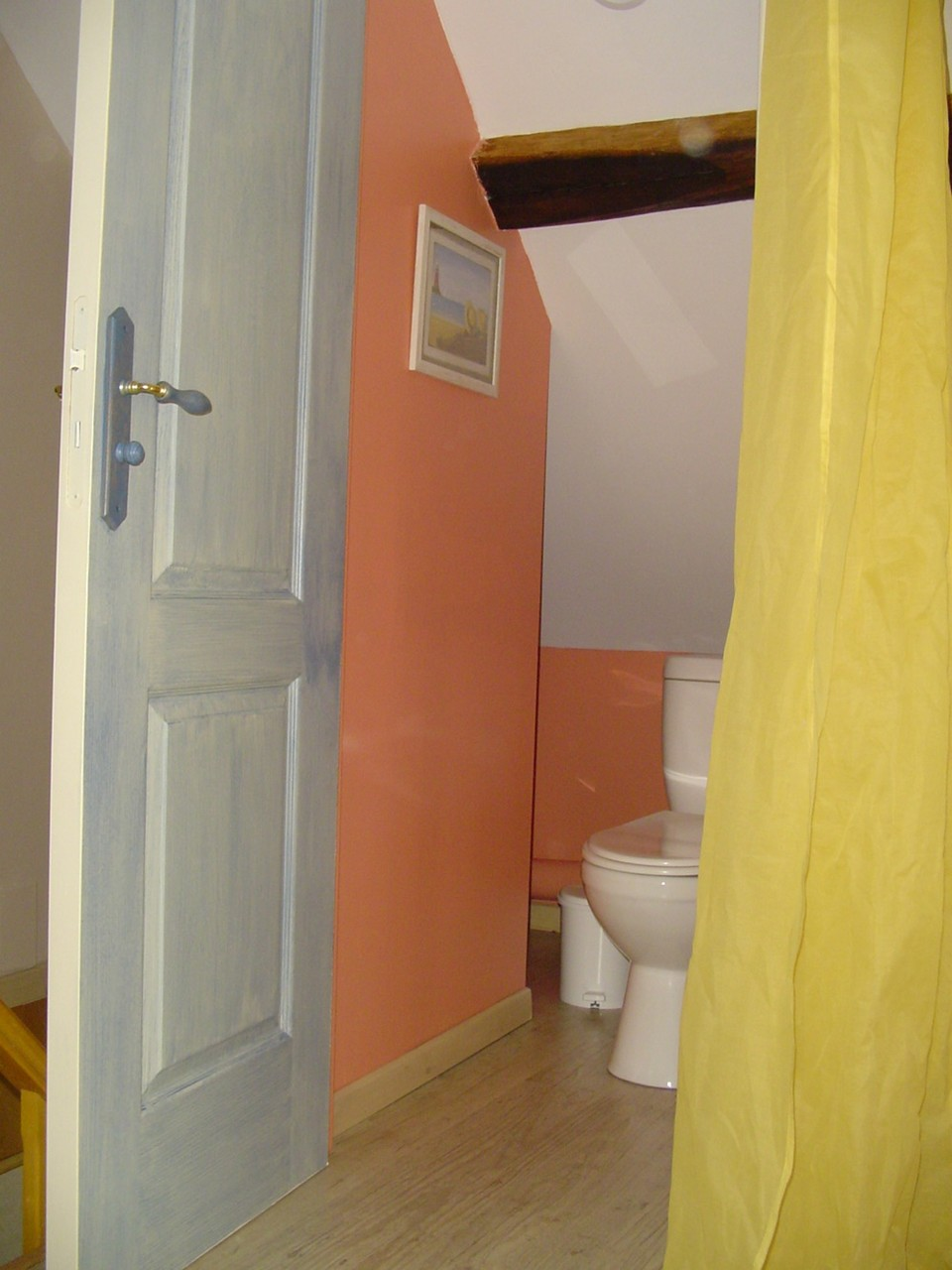 Le WC à l'étage