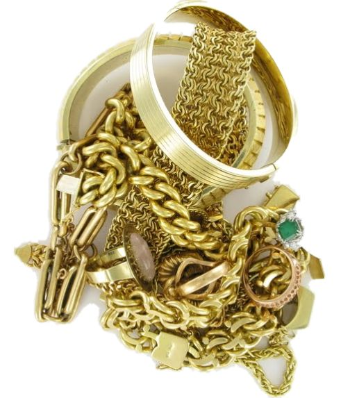 Bijoux d'occasion en or