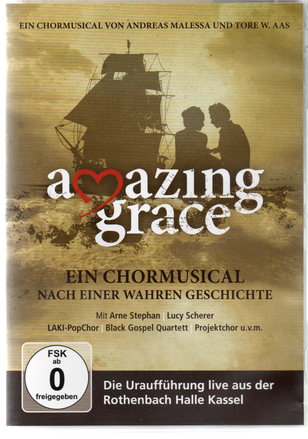 Amazing Grace (LIVE DVD Drums: Sebastian Cuthbert)