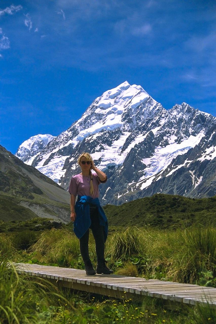 Ich & Mount Cook