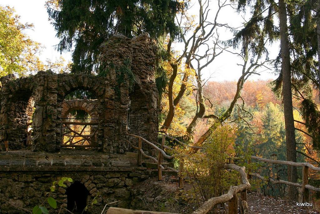 in Belvedere, alte Burgruine