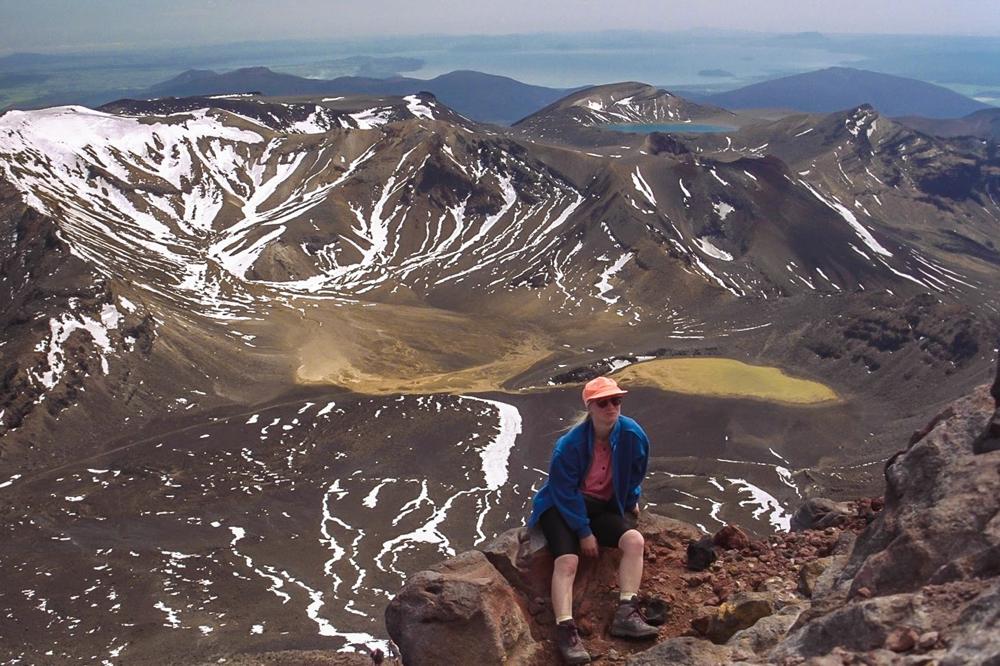 Vor 25 Jahren waren wir noch ganz oben auf dem Ngauruhoe.