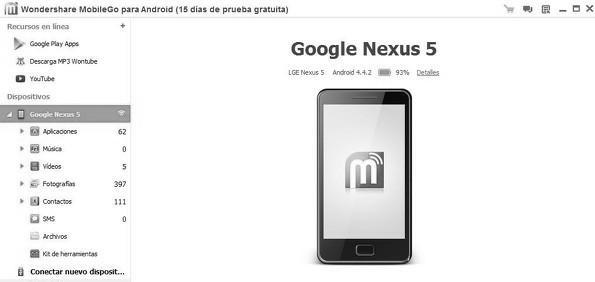 Pasos a seguir para recuperar los datos de tu Android