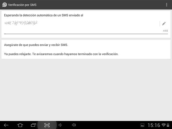 Instalar whatsapp en una tablet