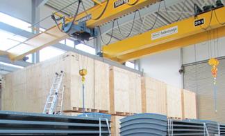 Produktion Lenz Holzbearbeitung
