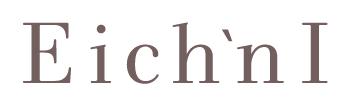 eichi&Iさんのロゴです。品のあるイメージでデザインさせていただきました。https://eichiandi.com/