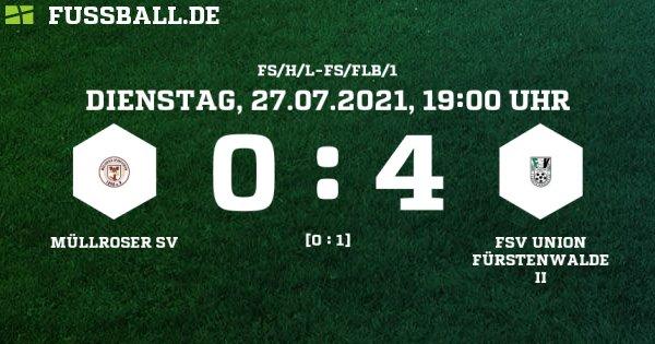 Deutliche Niederlage gg. Union FüWa II