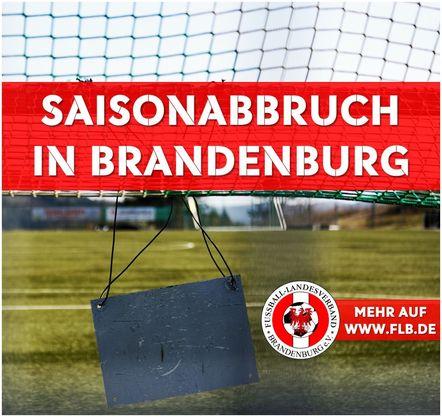 Saisonabbruch in Brandenburg