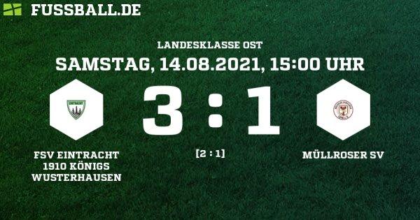 MSV I vermasselt Auftakt gegen Eintracht KW