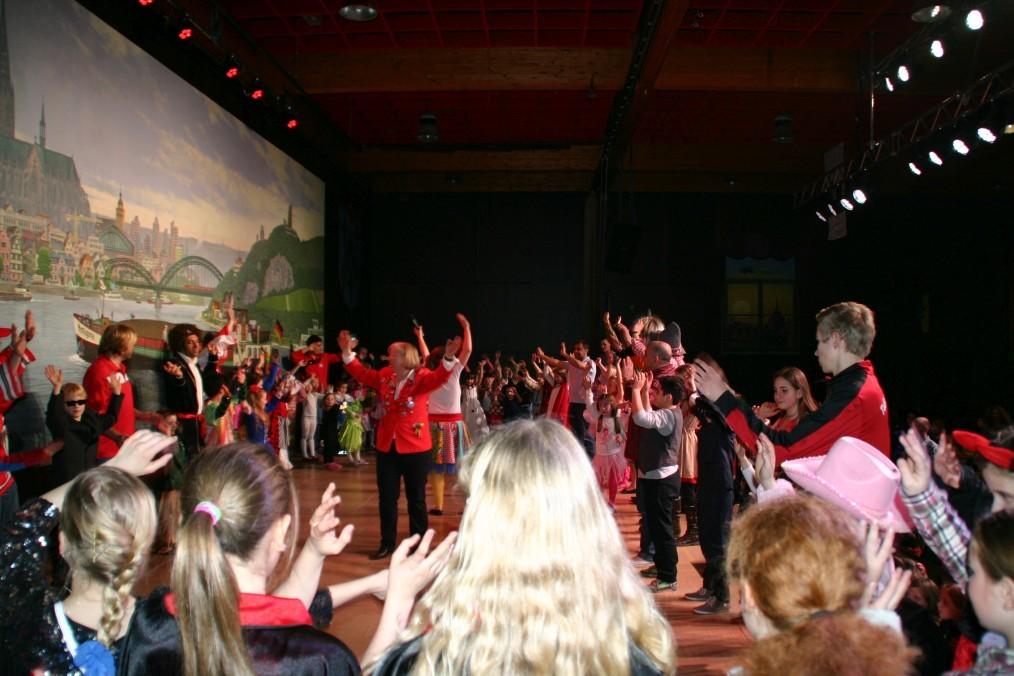 Kinderkarneval des TuS Germania Hersel - Sonntag, den 09.Februar 2014