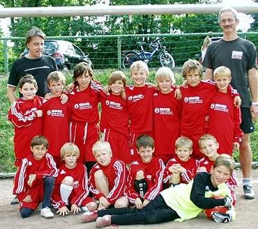 Ein starkes Team aus Hersel: Die F-Jugend des TuS Germania gründete sich nach dem Sommermärchen WM 2006.