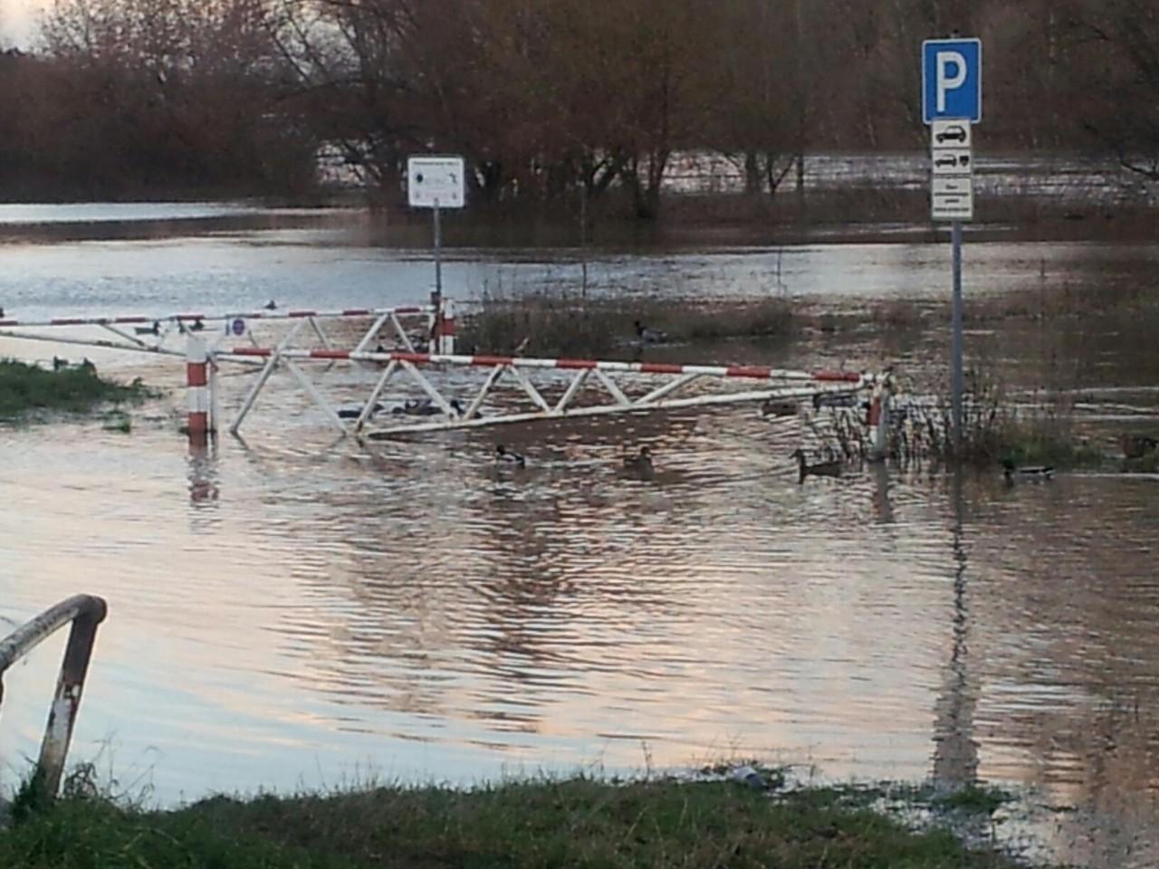 Hochwasser Dezember 2012