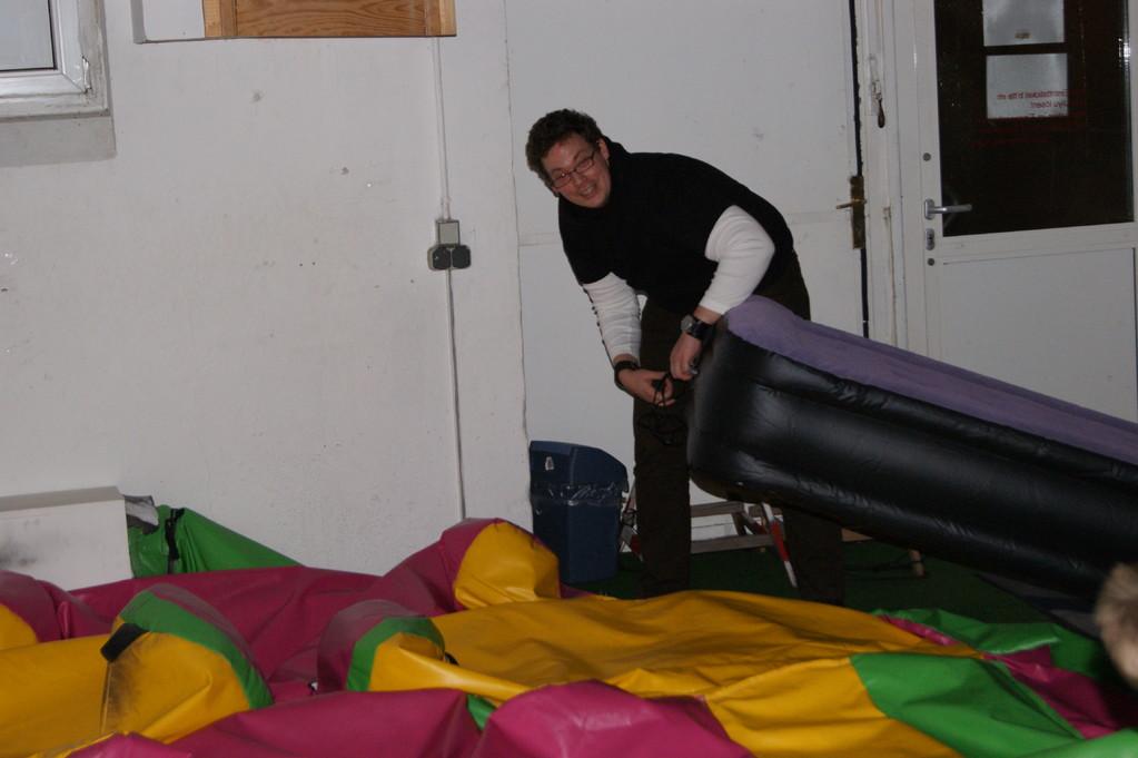 Unsere Schlafunterkunft im Kinderland vom Dojo