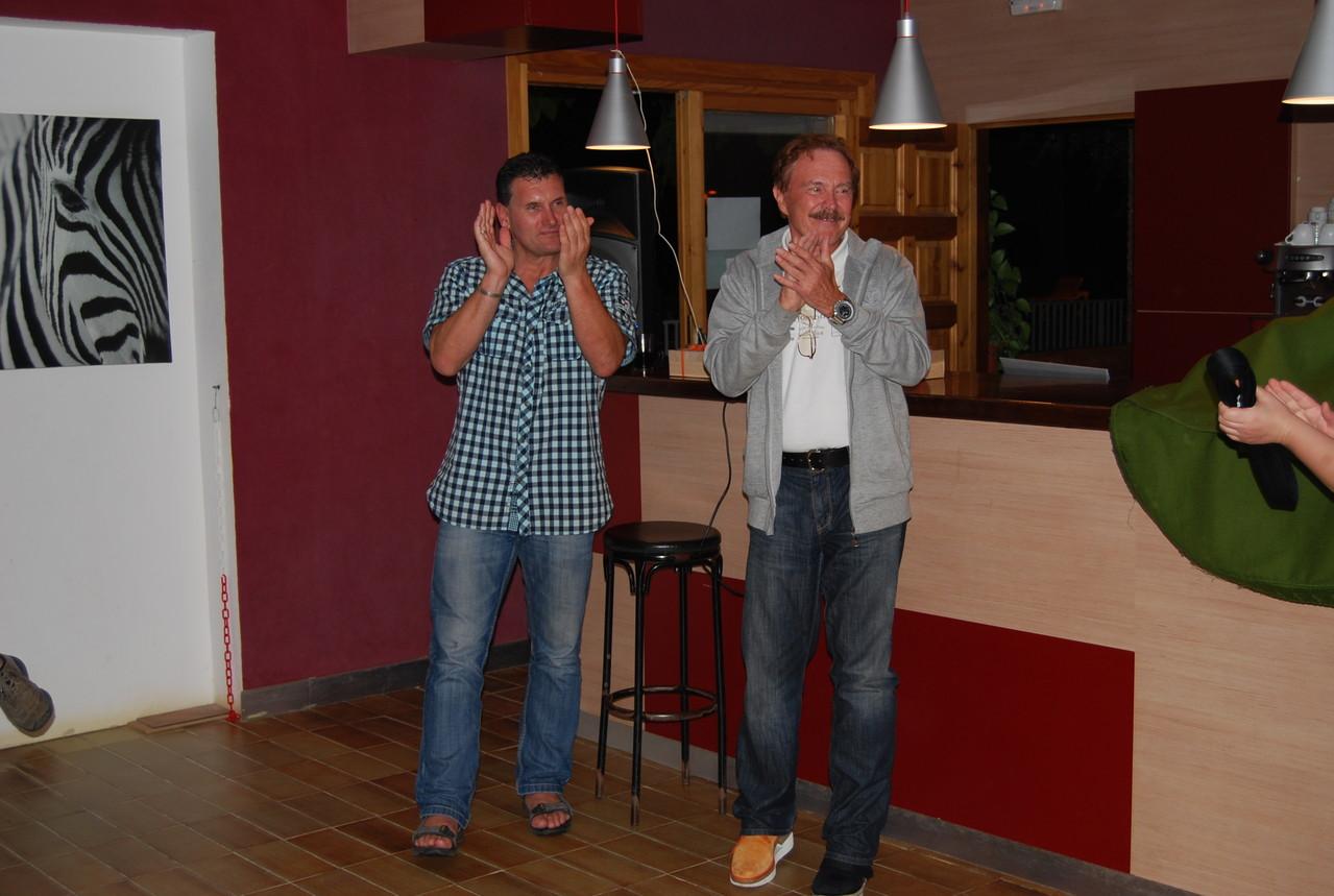 Wolfgang Hagge und Dieter Mansky