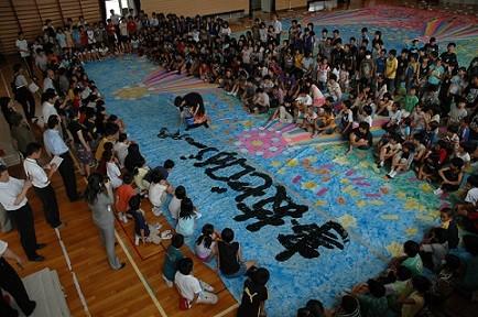 2008/7/7丹陽西小学校・七夕