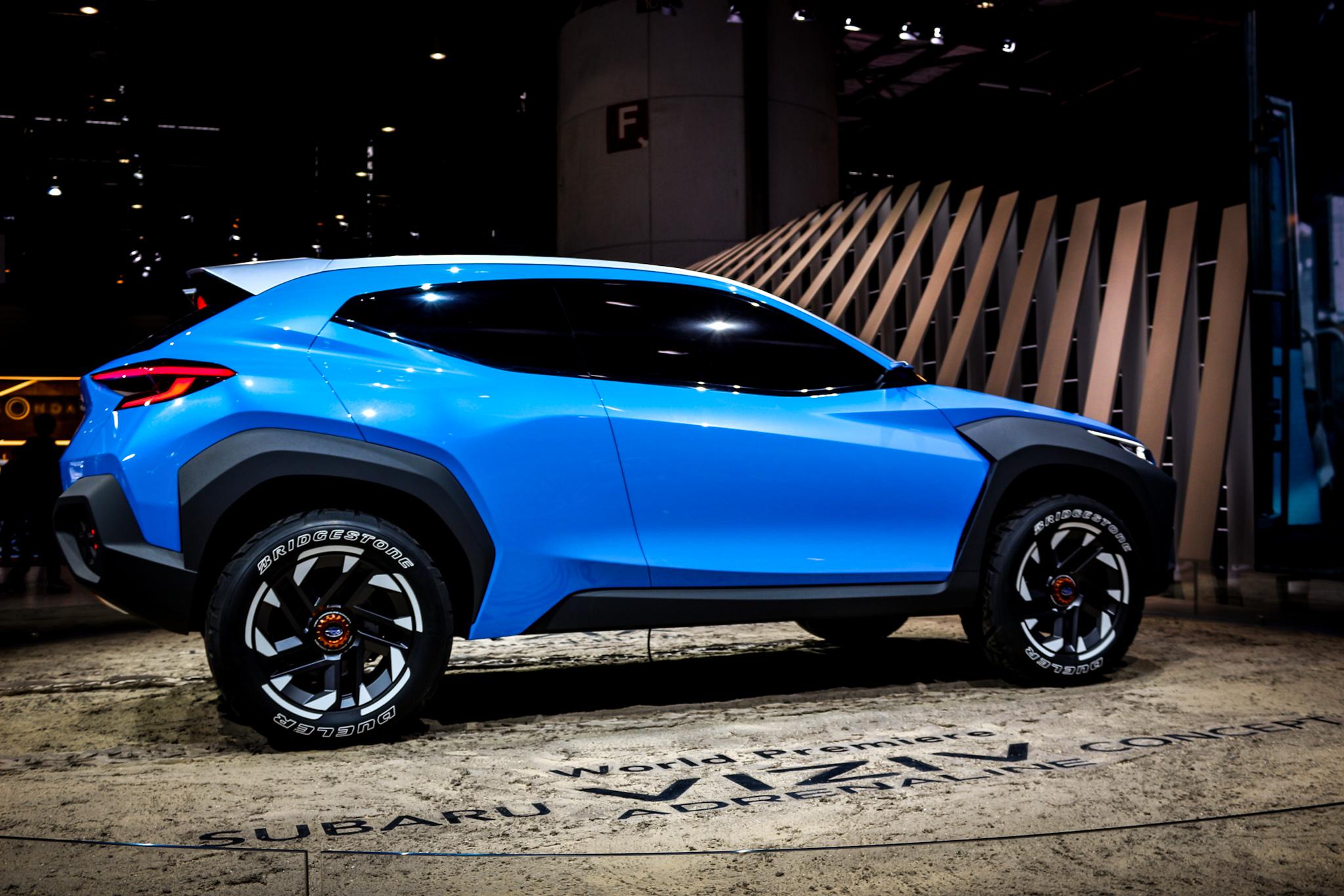 Subaru Viziv Concept Adrenaline