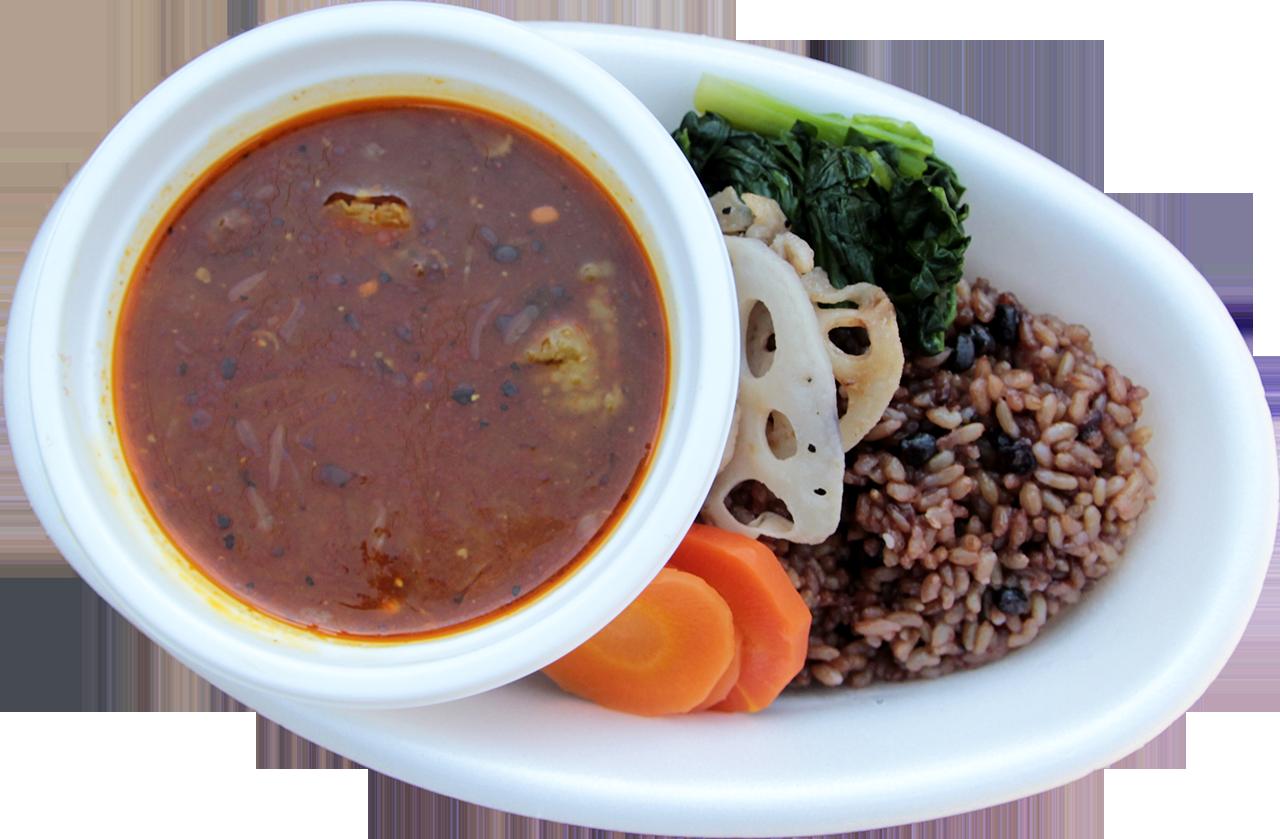 スープカレー(アメ色玉葱と10種類以上の香辛料)