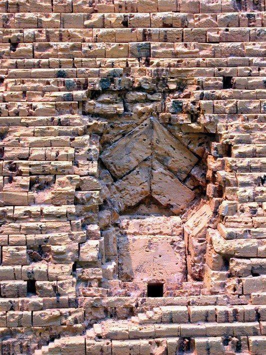 Cheops-Pyramide Korkmodell 1:200
