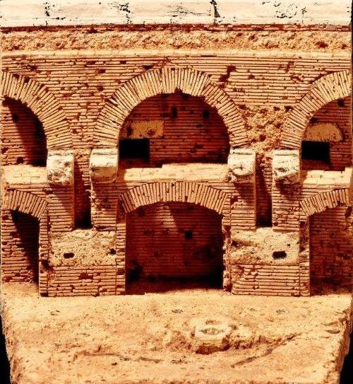 Kolosseum Korkmodell 1:100