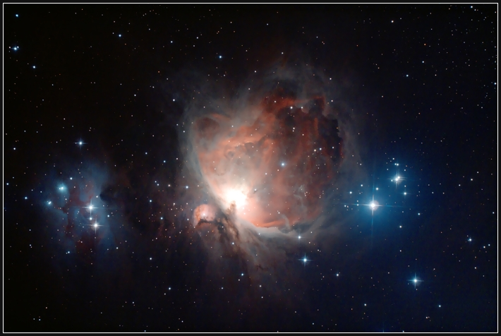 M42, Orionnebel & Running Man