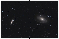 M81, M82, Bodes Galaxien