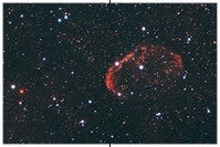 NGC 6888, Crescent Nebel, Sichelnebel